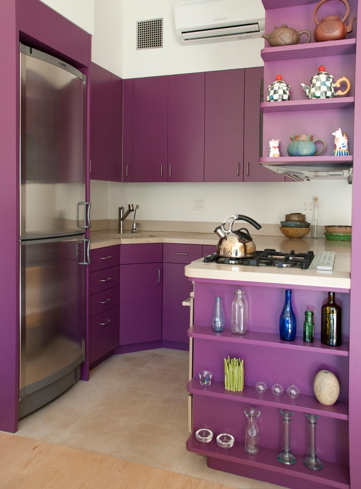 Purple Kitchen Sink
