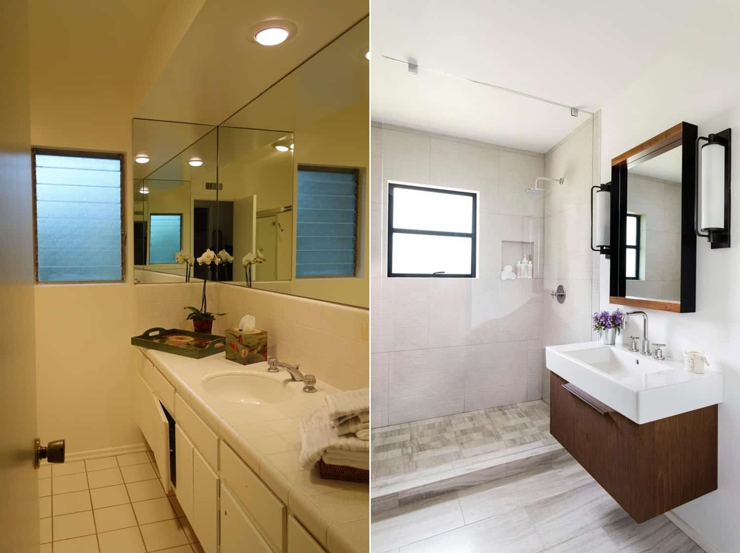 From Dark to Light and Airy